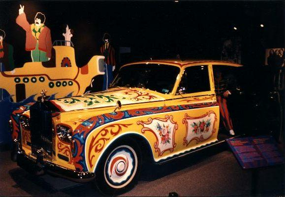 SOME INTERESTING FACTS ABOUT JOHN LENNON'S ROLLS-ROYCE PHANTOM V. CHASSIS