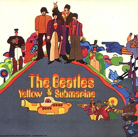 The Yellow Submarine album, released on Apple Records, 1968.